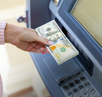US Dollar Cash Withdrawal Service Through ATMs